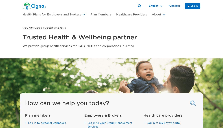 Health Insurance App — myCigna