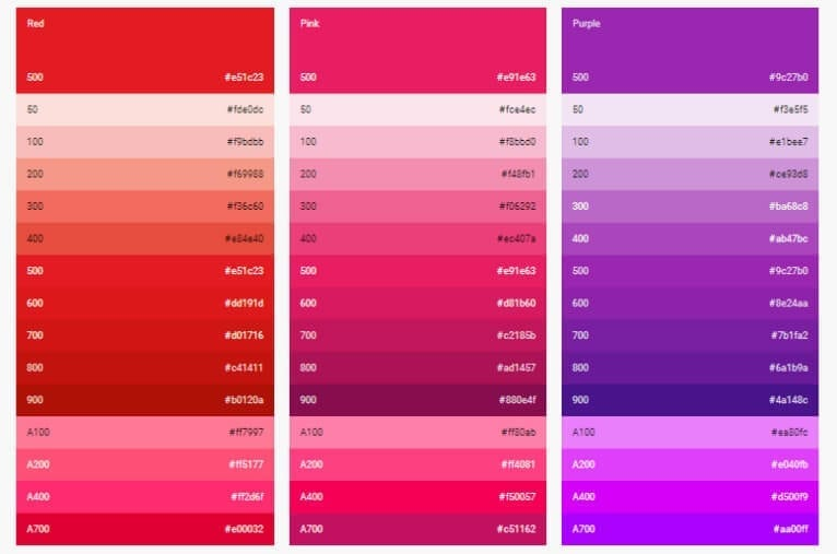 Trendy Colors In App Design Purple Intellectsoft Blog