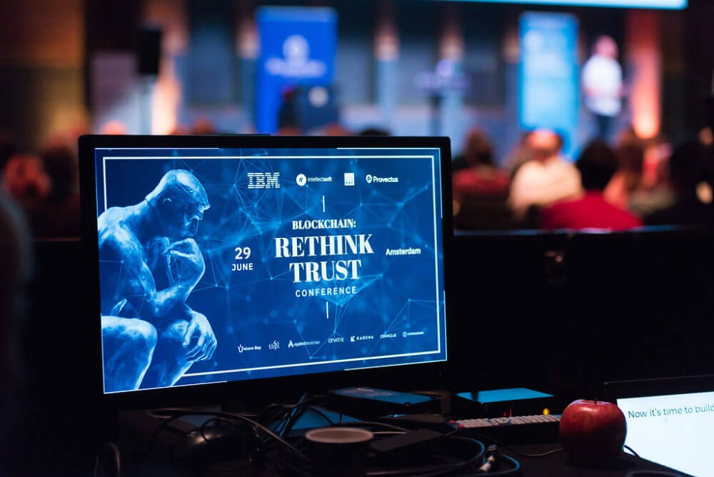 Rethink Trust 2018 Blockchain Conference