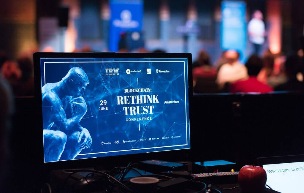 Rethink Trust 2018 Blockchain Conference