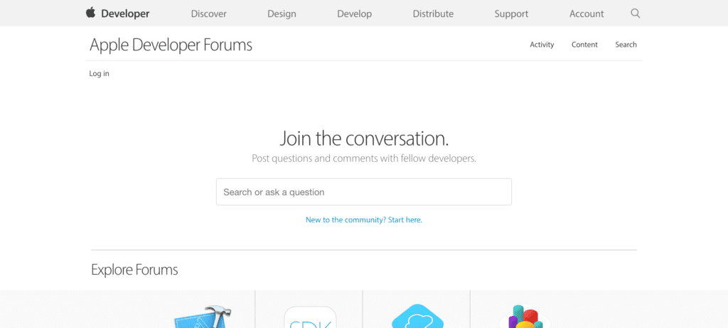 Apple Developers Forums