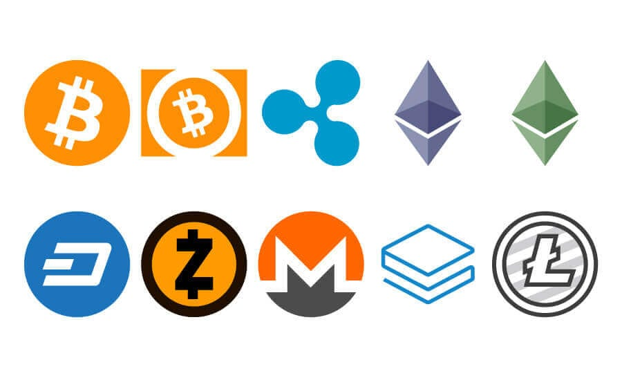 List of cryptocurrencies
