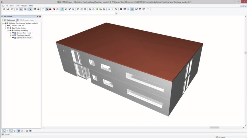 Example of BIM components