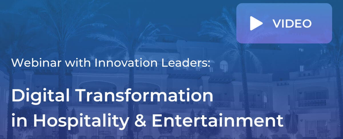 Digital Transformation in Hospitality Webinar