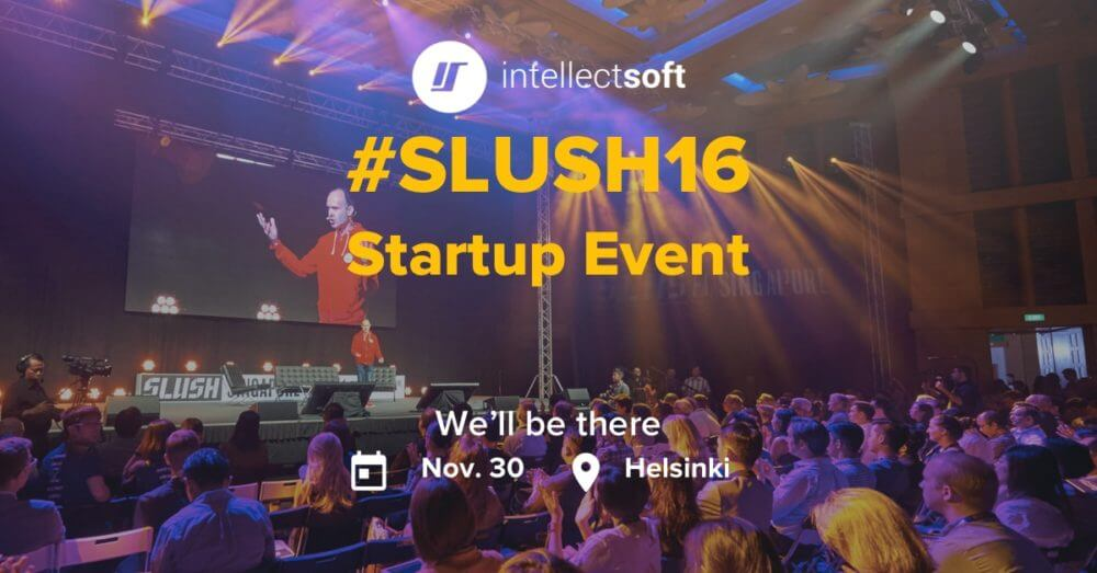Meet us at Slush 2016