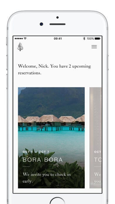 Apps for hotels