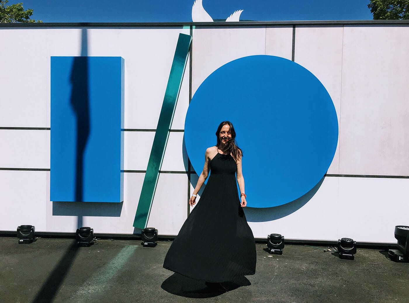 google io 2017 and dresses