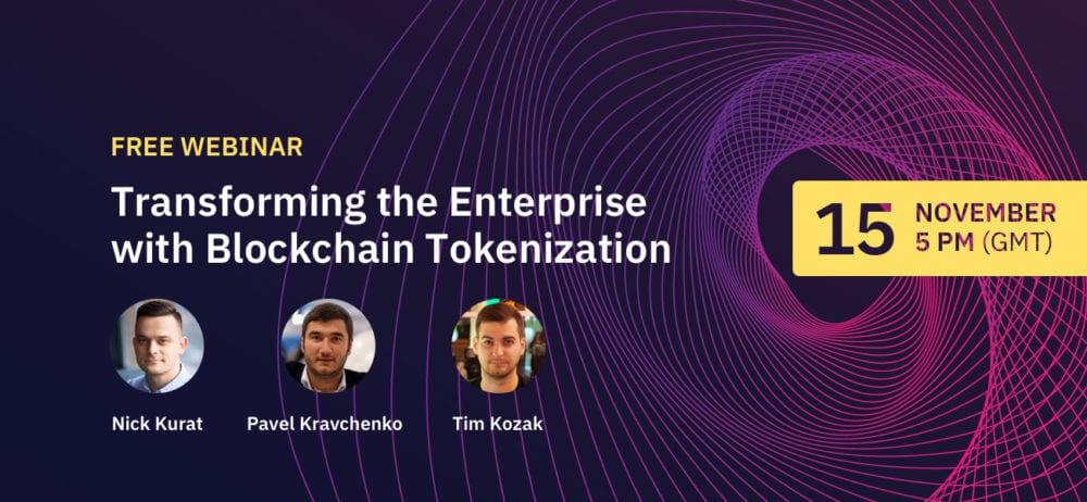 blockchain tokenization for enterprise