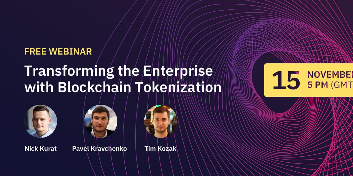 blockchain tokenization for enterprise