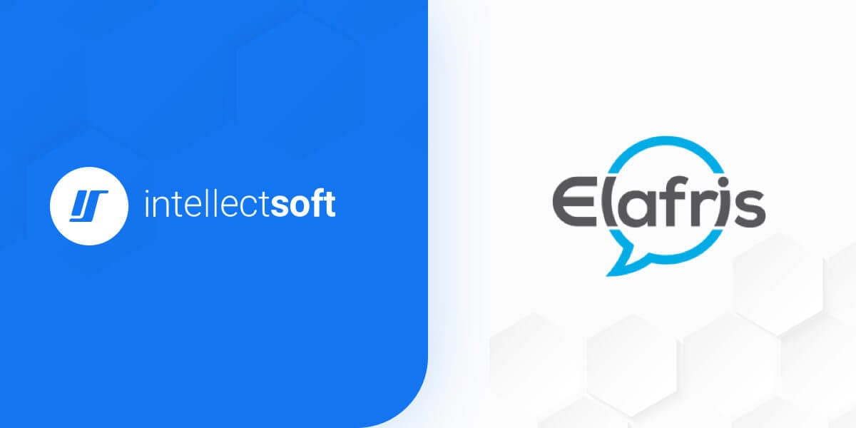 Intellectsoft and Elafris Partnership