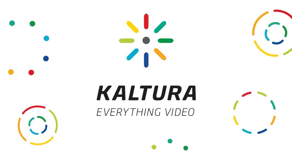 Kaltura Video Streaming Platform