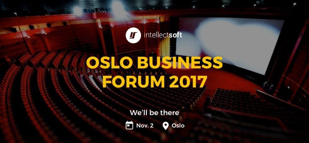 Intellectsoft at Oslo Business Forum 2017