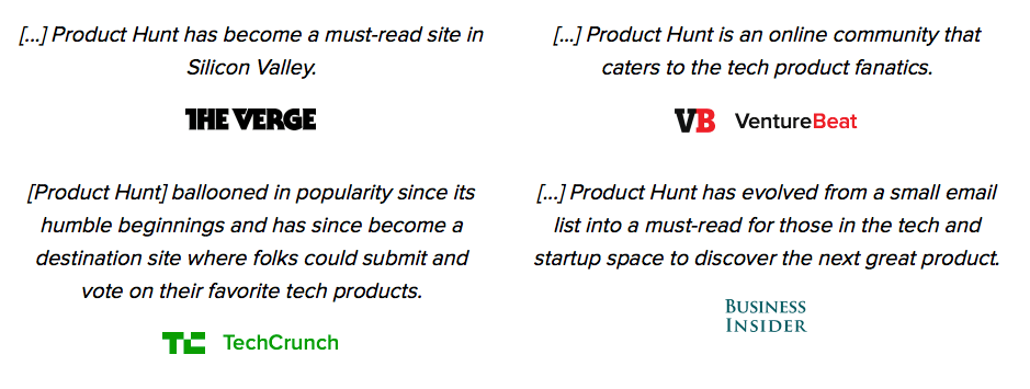 Product Hunt launch