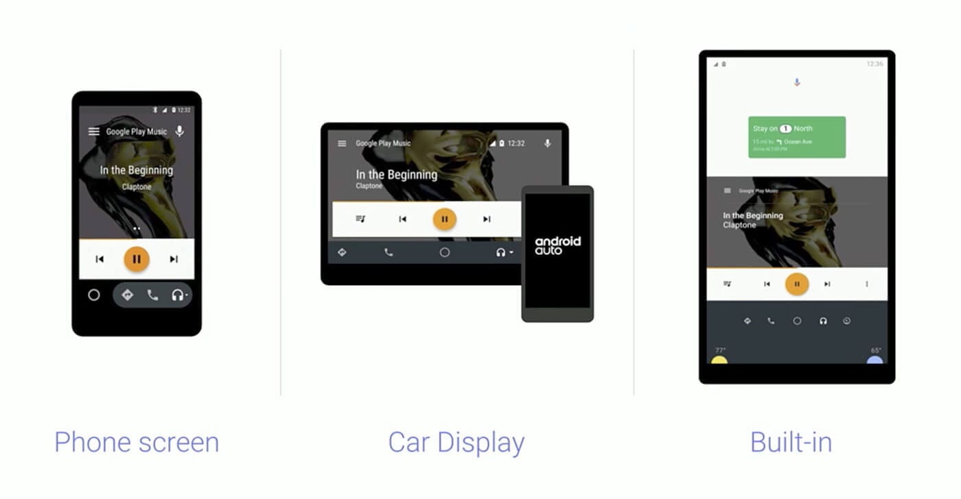 android auto ui ux