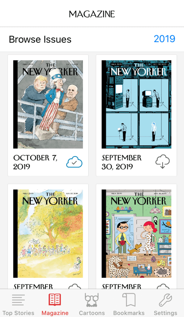 New Yorker Today news app