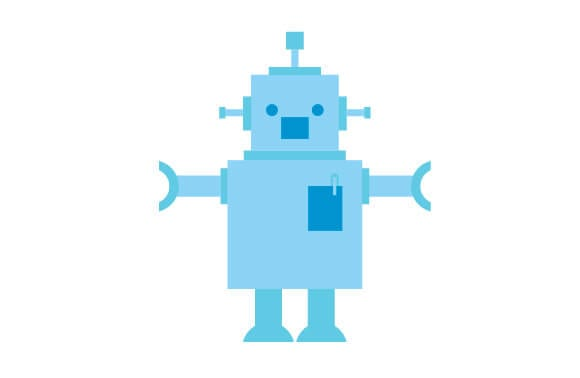 chatbots replacing mobile apps robot