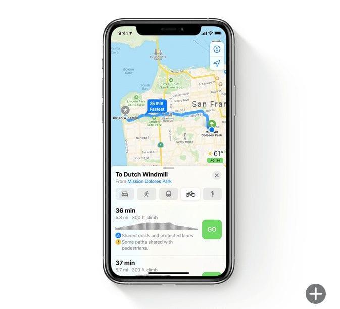 Maps: New Environmentally Friendly Ways to Go