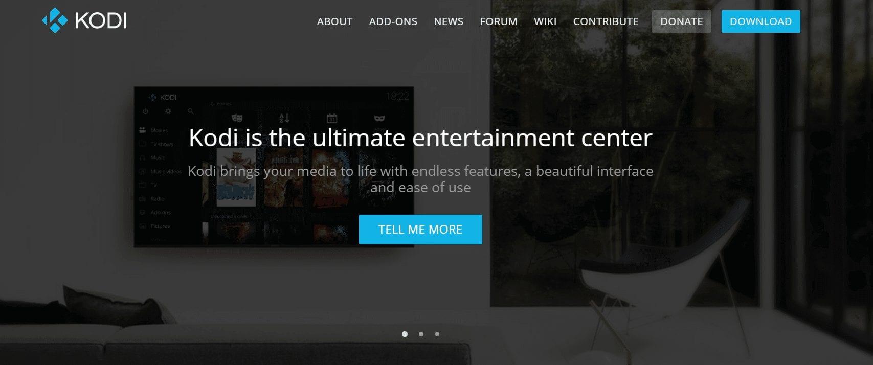 Kodi TV apps