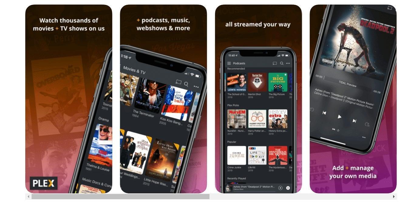 Plex TV apps