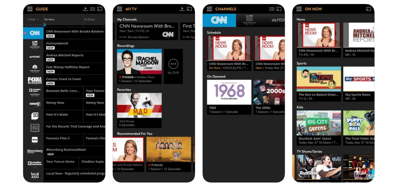Sling TV apps