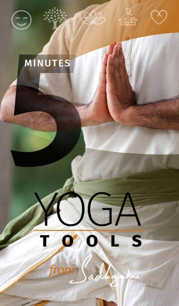 Yoga Tools From Sadhguru App