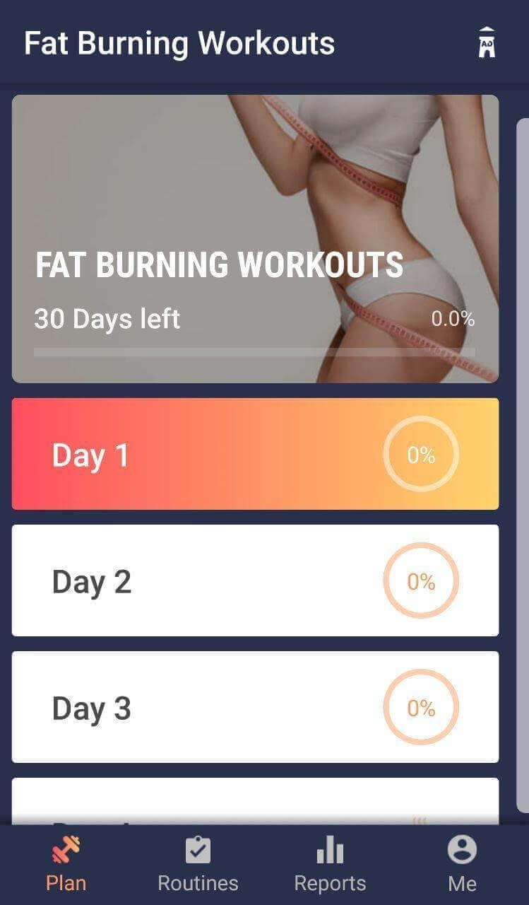 Fat Burning Workouts App