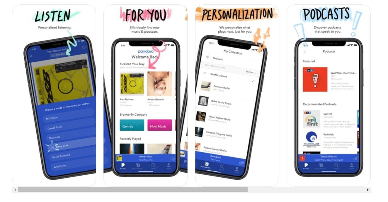 Pandora TV apps