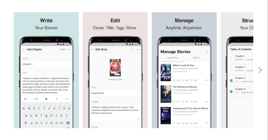 Inkitt App