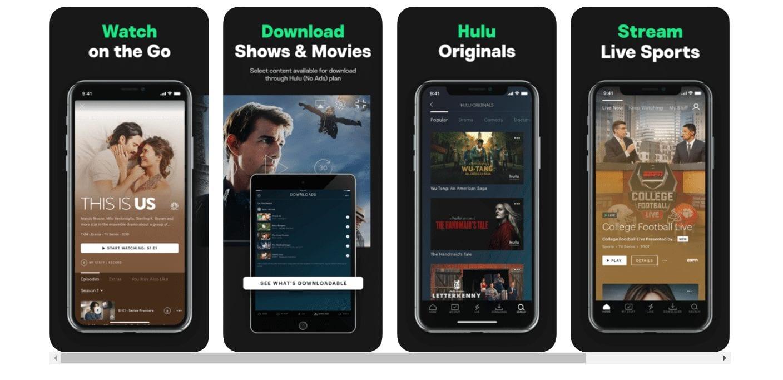 Hulu TV apps